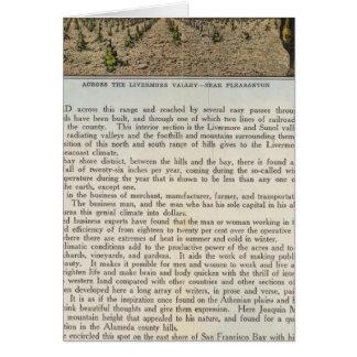 Verso Alameda County Card