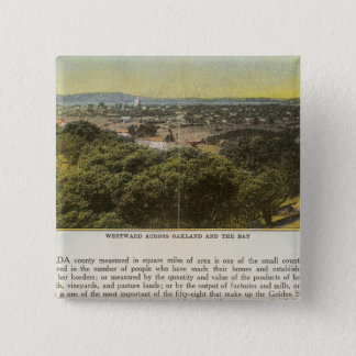 Verso Alameda County, Oakland and the Bay Button