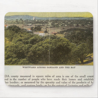 Verso Alameda County, Oakland and the Bay Mouse Pad