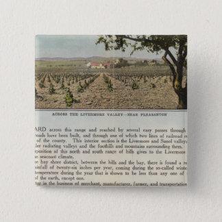 Verso Alameda County Pinback Button