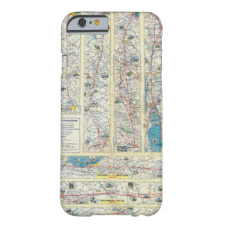 Verso American Airlines system map Barely There iPhone 6 Case