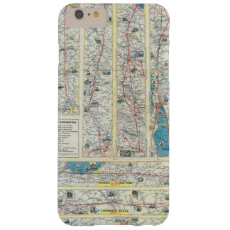 Verso American Airlines system map Barely There iPhone 6 Plus Case