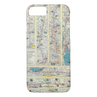 Verso American Airlines system map iPhone 7 Case