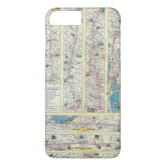 Verso American Airlines system map iPhone 7 Plus Case