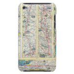 Verso American Airlines system map iPod Touch Cover