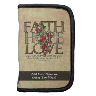 Verso cristiano de la biblia del amor de la espera planificadores