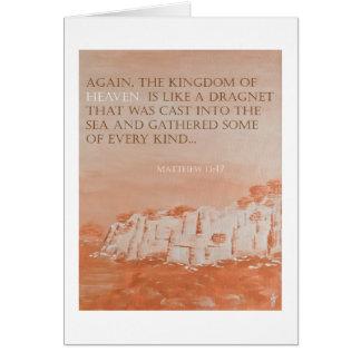 Verso de la biblia: 13:47 Pedagogygreetings de Tarjeta De Felicitación