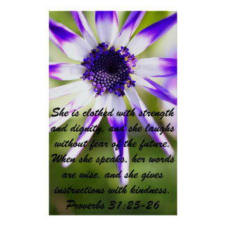 Verso de la biblia de los proverbios para el poste impresiones