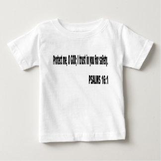 Verso de la biblia de los SALMOS Camiseta