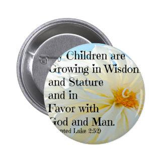 Verso de la biblia de Lucas que mis niños están cr