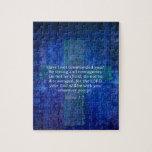 Verso de la biblia del 1:9 de Joshua sobre fuerza Puzzle Con Fotos