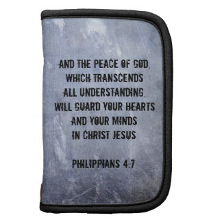 Verso de la biblia del 4 7 de los filipenses organizador