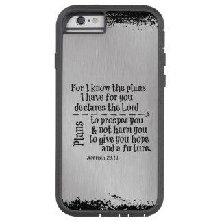 Verso de la biblia: Para mí sé los planes que Funda De iPhone 6 Tough Xtreme