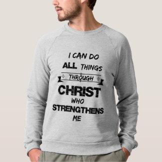 Verso de la biblia: Puedo hacer todas las cosas a Playeras