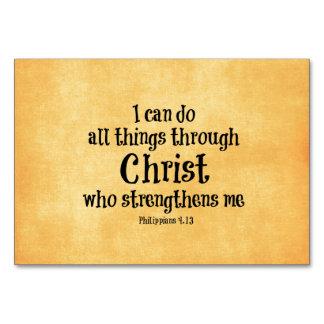 Verso de la biblia: Puedo hacer todas las cosas a