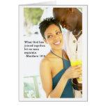 Verso del aniversario del amor tarjeta de felicitación