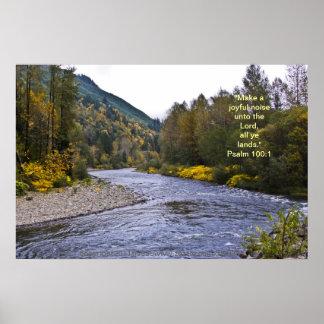 Verso del poster w/Scripture de Fall River