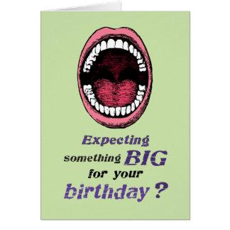Verso gay del suplente del cumpleaños tarjeta de felicitación