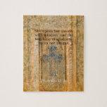 Verso hermoso de la biblia del 31:26 de los prover puzzles
