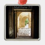 Verso hermoso de la biblia del 7:7 de Matthew Adorno