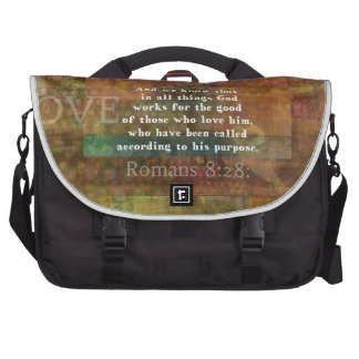 Verso inspirado de la biblia bolsas para portatil
