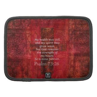 Verso inspirado de la BIBLIA del 73 26 del salmo Organizadores