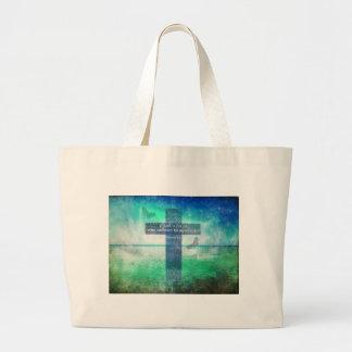 Verso inspirado de la biblia del 8:31 de los roman bolsas