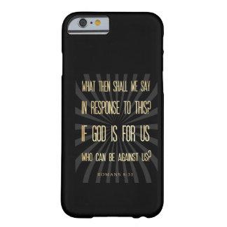 Verso Scriptural cristiano de la biblia - 8:31 de Funda Para iPhone 6 Barely There