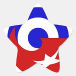 Versões da bandeira de Cuba Adesivo Estrela