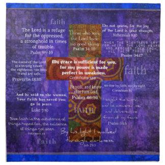 Versos de la biblia que elevan sobre la FE