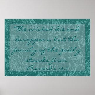 versos de la biblia sobre 12:7 de los proverbios d impresiones