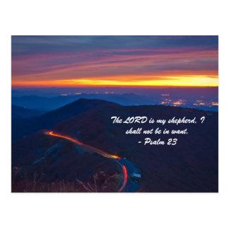 Versos famosos de la biblia postal