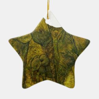 VERT1 png ELEPHANT Christmas Tree Ornaments