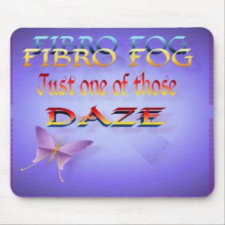 Vert fibro de la niebla. Mousepad