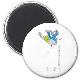 Vert Rider 2 Inch Round Magnet