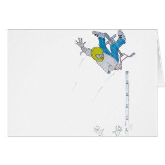 Vert Rider Greeting Card