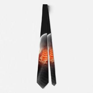 Vertebrae Digital Artwork Chiropractic Tie