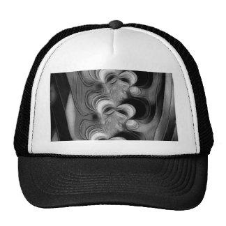 Vertebrae skeleton trucker hat