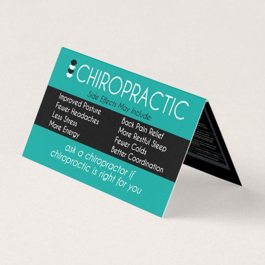 Vertebral subluxation chart chiropractor folded business card vertebral subluxation chart chiropractor folded business card reheart Images