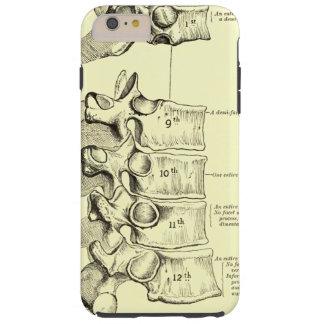 Vértebras de la anatomía el | del vintage funda de iPhone 6 plus tough