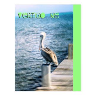 Verti-Gone postcard