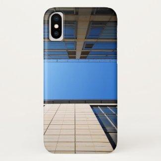 Vertical 005 iPhone x case