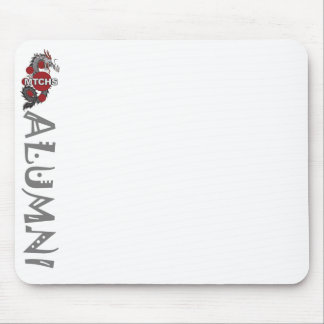 Vertical Alumni Mouse Pad