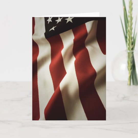 vertical american flag card zazzle com