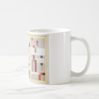 Vertical and horizontal composition Sophie Taeuber Coffee Mug