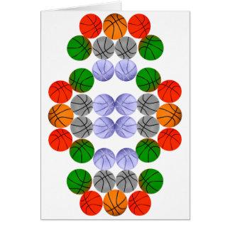 Vertical Balls Greeting Cards