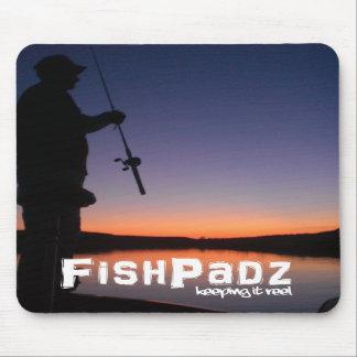 Vertical Bass Fishing Mousepad