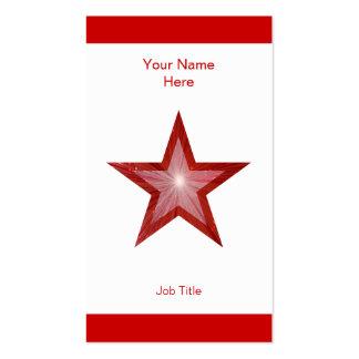 Vertical blanca roja de la raya de la tarjeta de v plantilla de tarjeta de visita