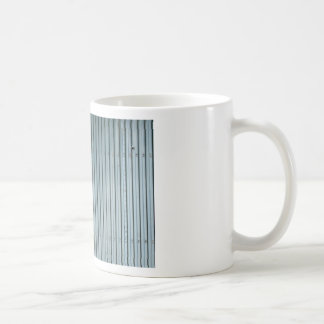 Vertical Blinds Pattern Classic White Coffee Mug