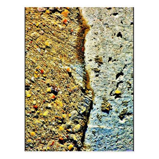 """Vertical Break"" JTG Art Postcard"
